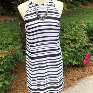 Banana Republic Black/White Summer Dress